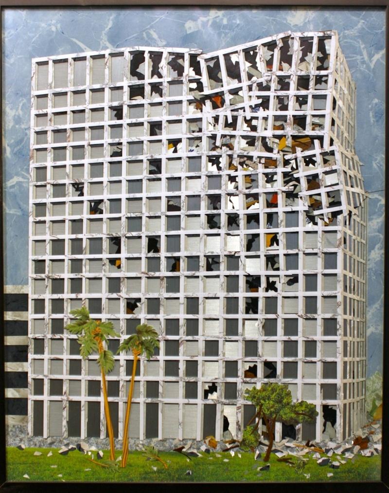 Collapsed Facade, courtesy of Devin Borden Gallery