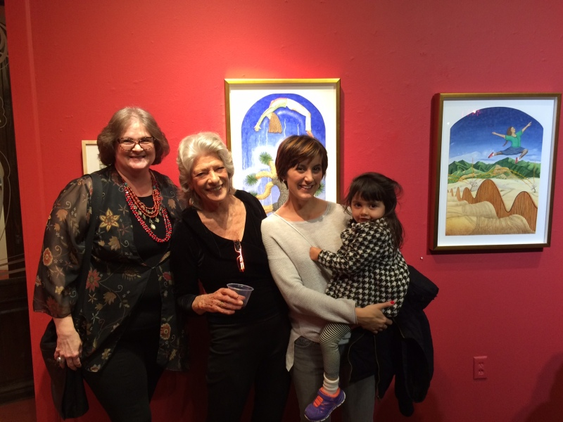 Beth Wray, Liza Littlefield, Casey Gregory, and the irrepressible Clementine Gregory